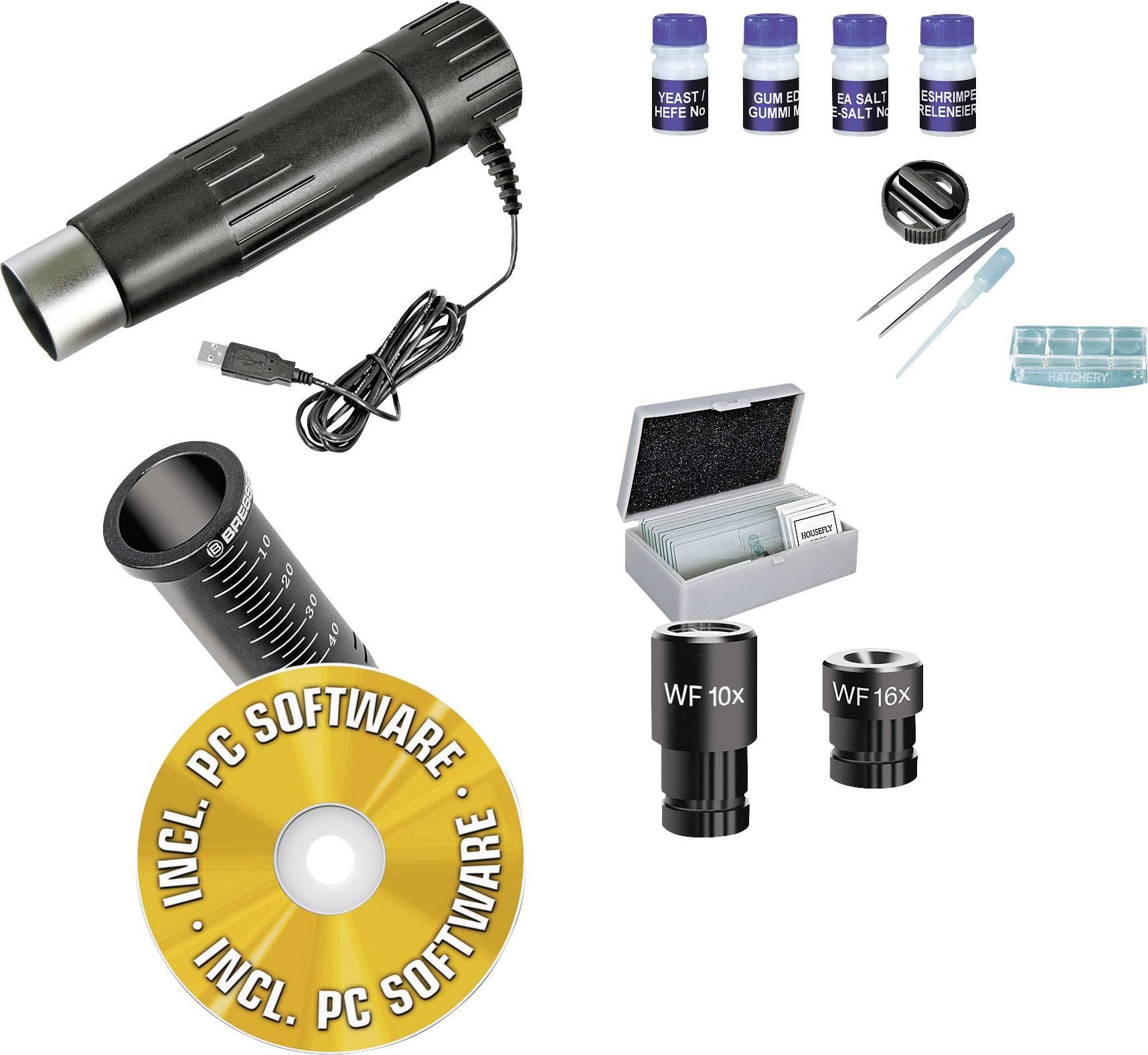 Mikroskop Bresser Junior 40x - 1024x, USB výstup