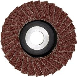 Lamelový brusný kotouč zkorundu pro LWS, Proxxon Micromot 28 590, Ø 50 mm, zrnitost 100