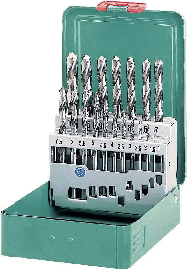 Sada kovového špirálového vrtáka Heller 21962 4, DIN 338, HSS, 1 sada
