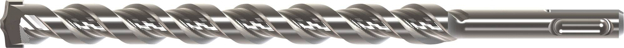 Tvrdý kov kladivový vrták Heller 156233, 6 mm, 160 mm, 1 ks