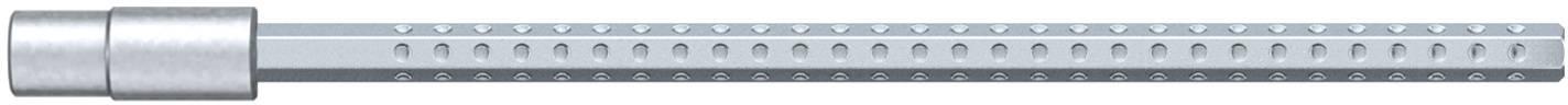 Bit pro nástrčné klíče Wiha System 4, vnější šestihran, 2,0/2,5 mm