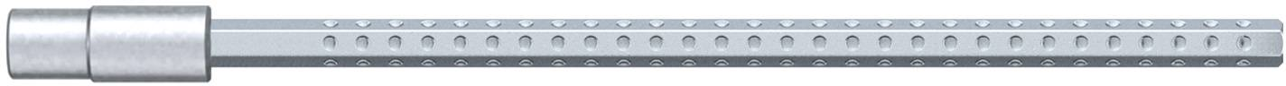 Bit pro nástrčné klíče Wiha System 4, vnější šestihran, 3,0 mm
