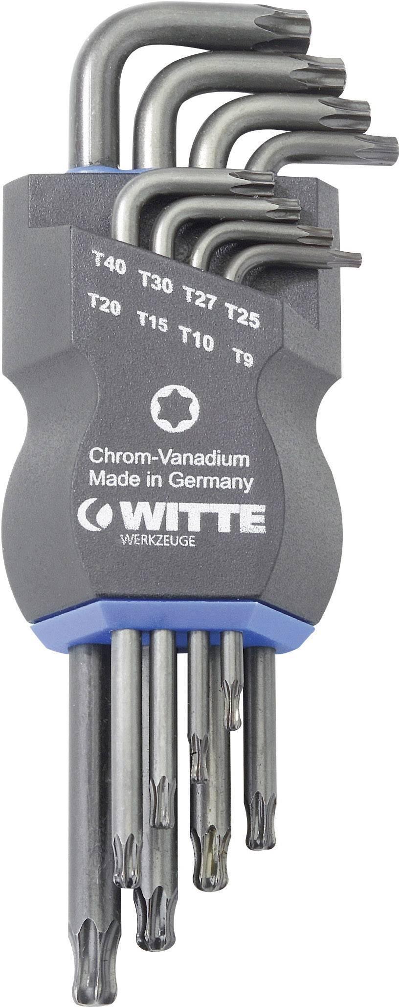 Torx sada zahnutých kľúčov Witte Werkzeug 0450432, 8-dielna