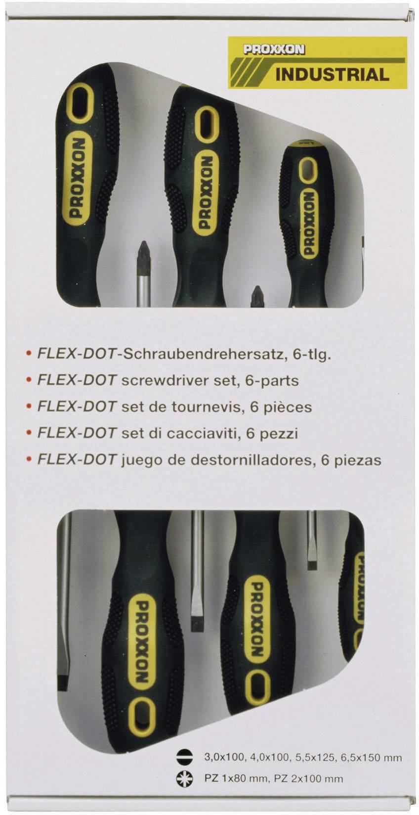Súprava skrutkovačov Proxxon Industrial FLEX-DOT 22606, 6-dielna