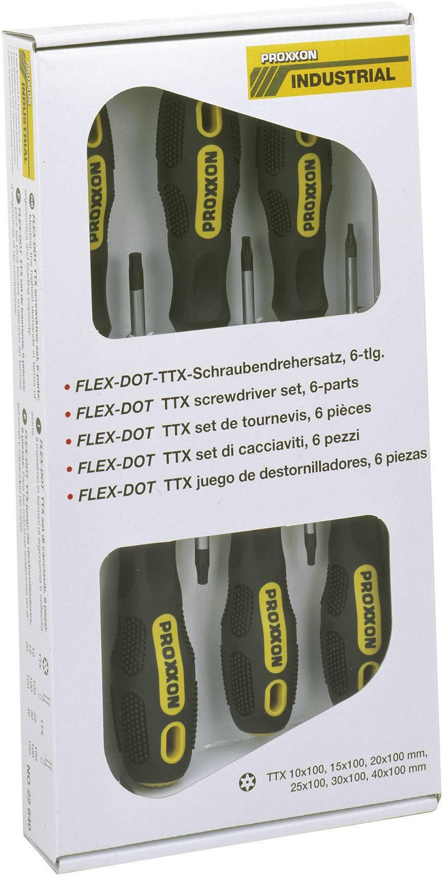 Sada šroubováků Proxxon Industrial TORX® BO 22640, 6-dílná