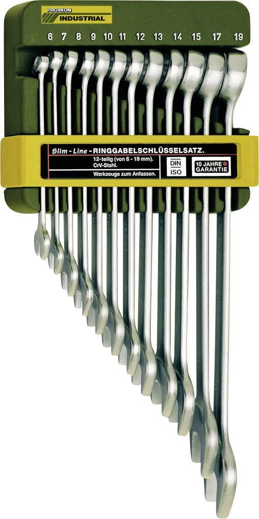 Sada očkoplochých kľúčov Proxxon Industrial 23820, 6 - 19 mm, 12-dielna