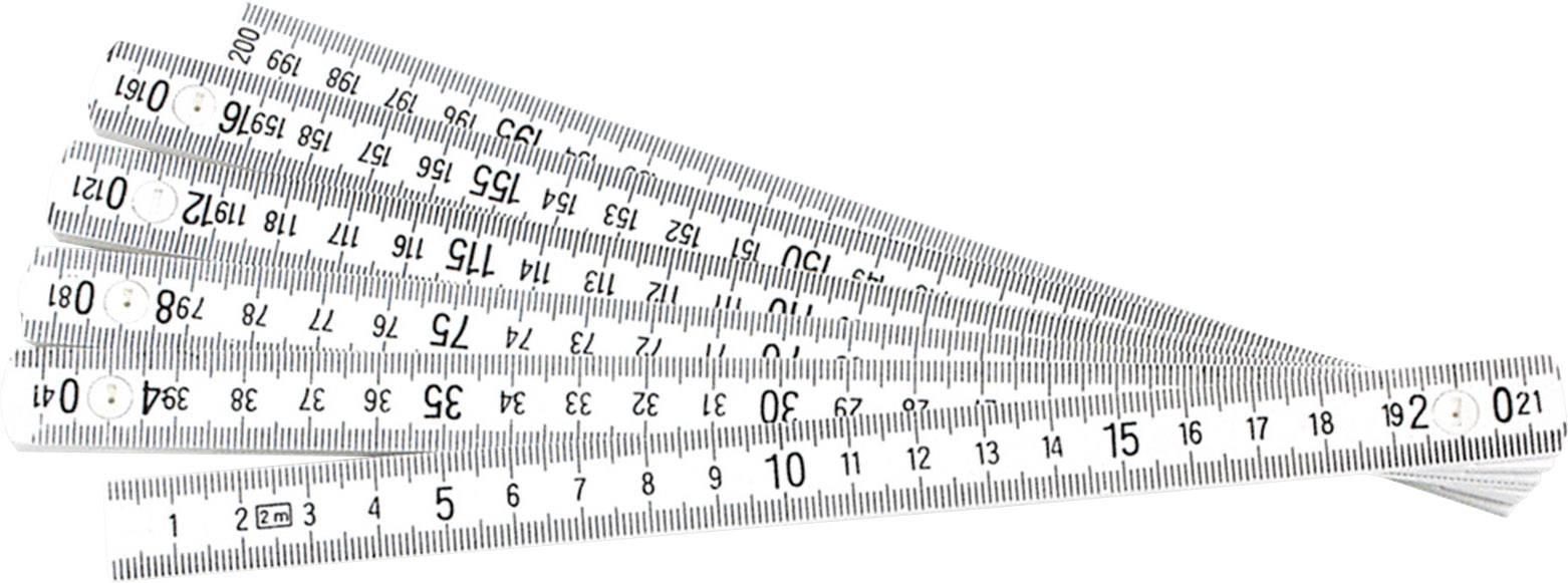 Umelohmotné skladacie meradlo Longlife R, 2 m