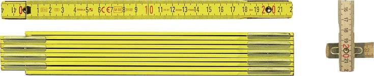 Rozkládací dřevěný metr Stabila