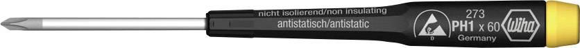 Krížový skrutkovač ESD Wiha 07640, PH 00, čepeľ 40 mm