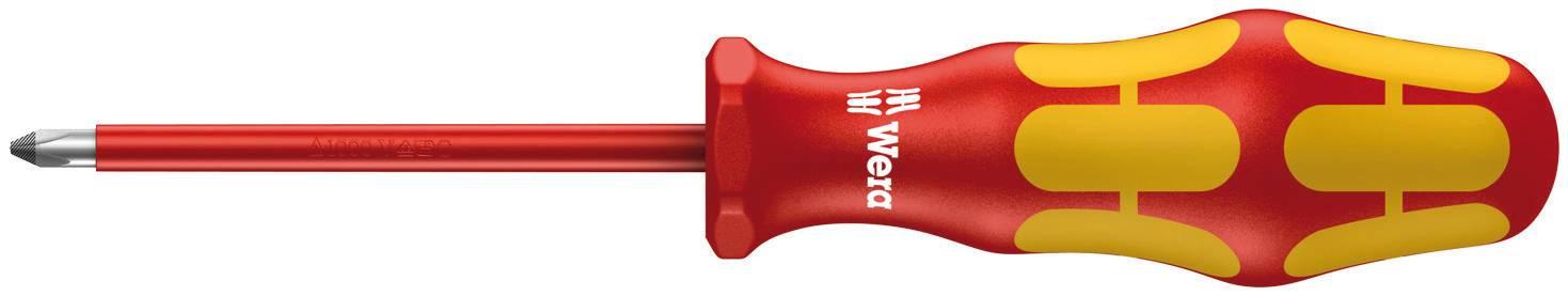 Krížový skrutkovač VDE Wera 162 i 05006154001, PH 2, dĺžka čepele: 100 mm