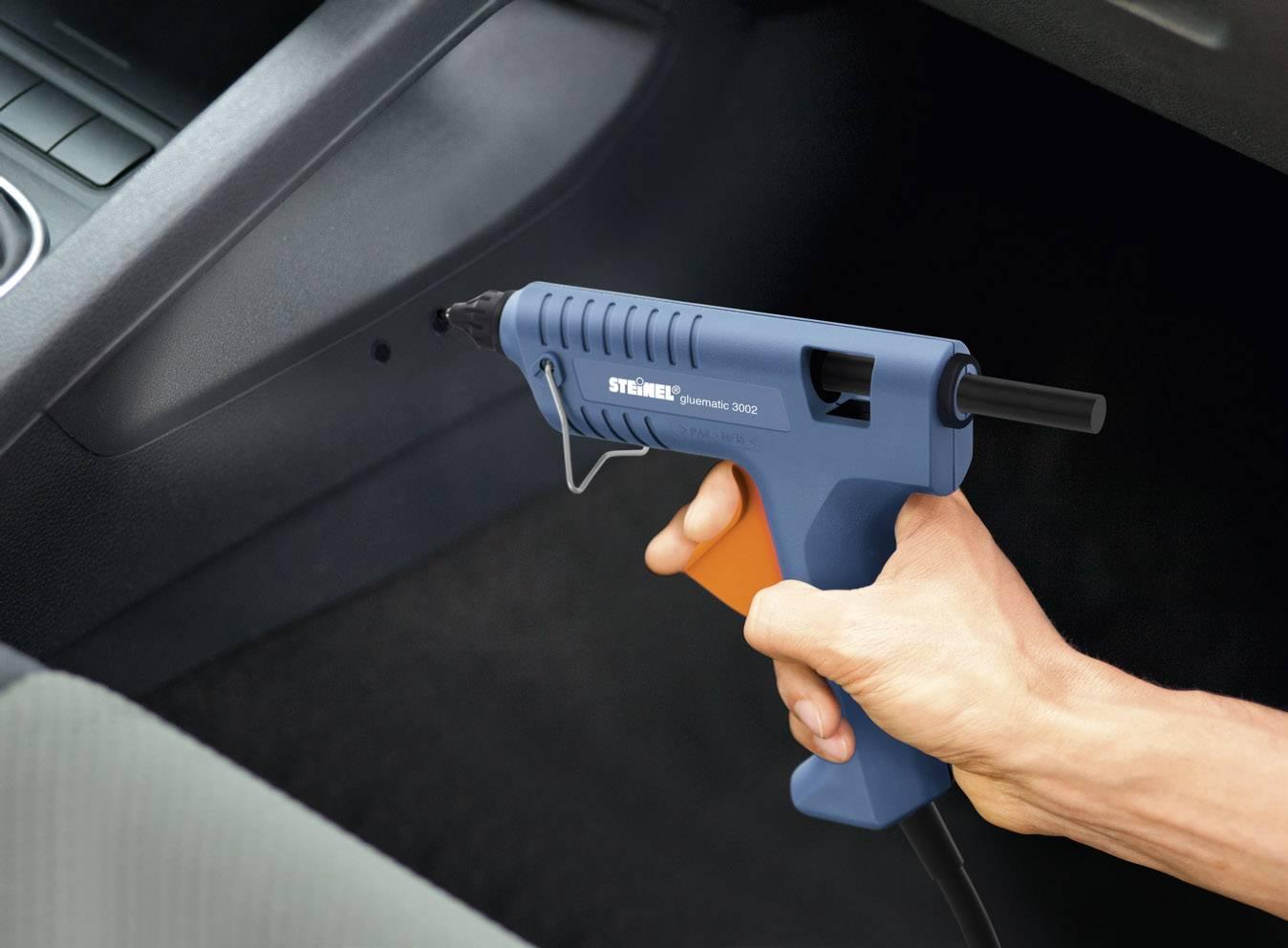 Steinel horúco lepiaca pištoľ série Gluematic 3002