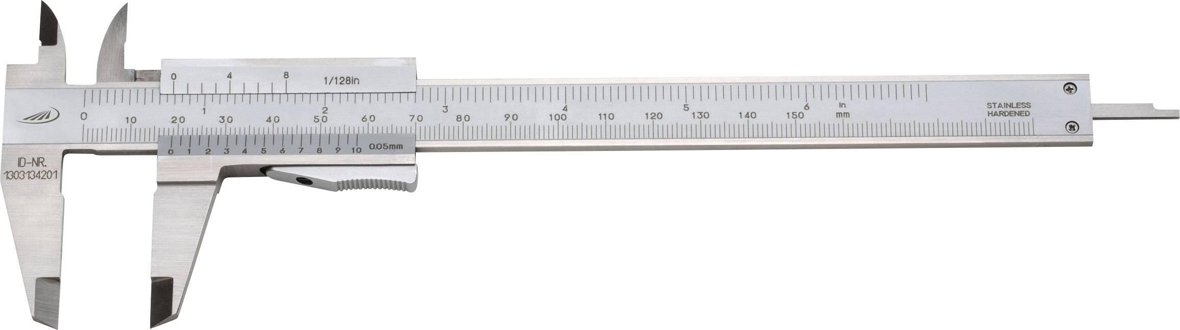 Vreckové posuvné meradlo Helios Preisser 0184 501, rozsah merania 150 mm