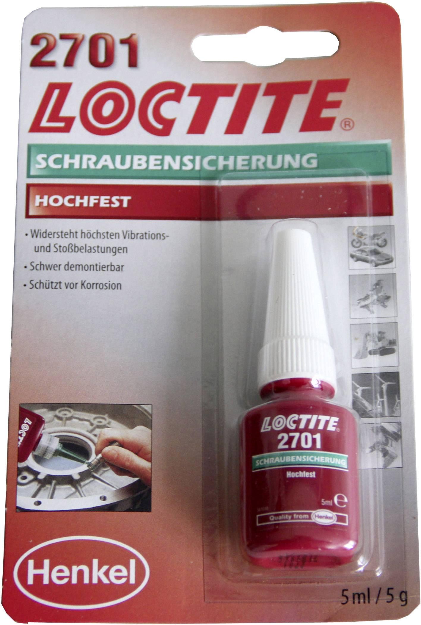 Zajištění šroubů Pevnost: vyšší 5 ml LOCTITE® 2701 195911