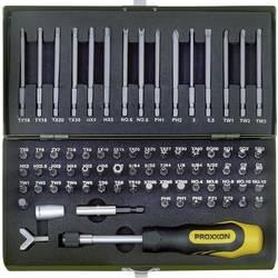 Sada bitov Proxxon Industrial 23 107, 75 mm, 25 mm, Chrom-molybden-křemík-mangan-vanadová ocel , legované, 75-dielna