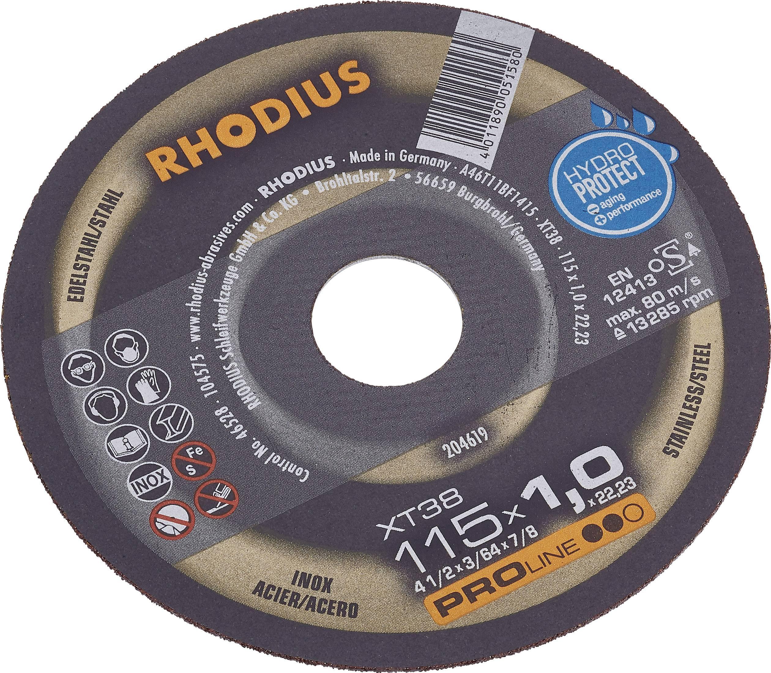 Kotouč pily XT38 Rhodius, 115