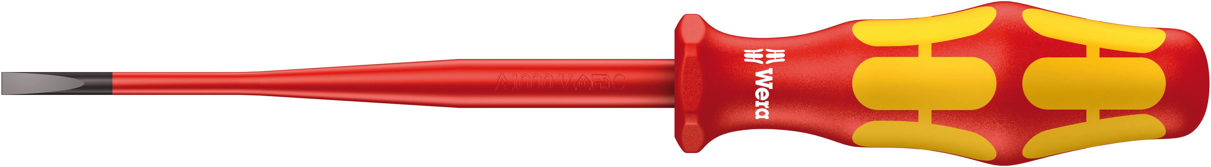 Plochý skrutkovač VDE Wera 160 iS 05006442001, čepeľ 125 mm
