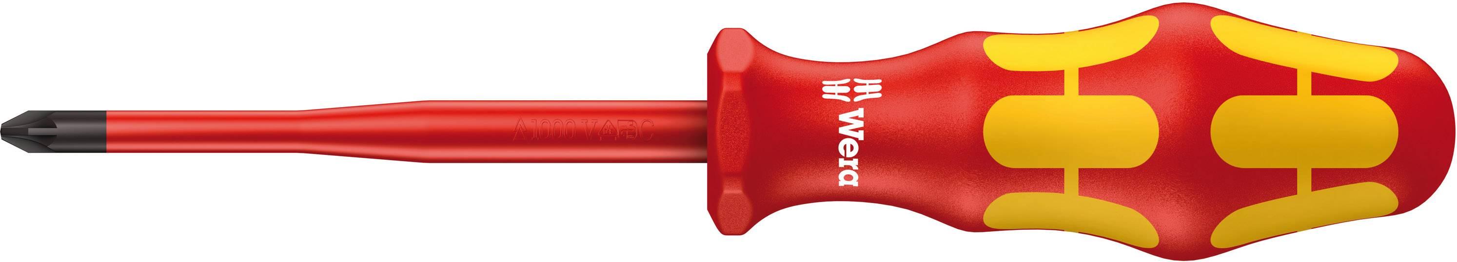 Křížový šroubovák Wera VDE PZ 1 x 80 mm