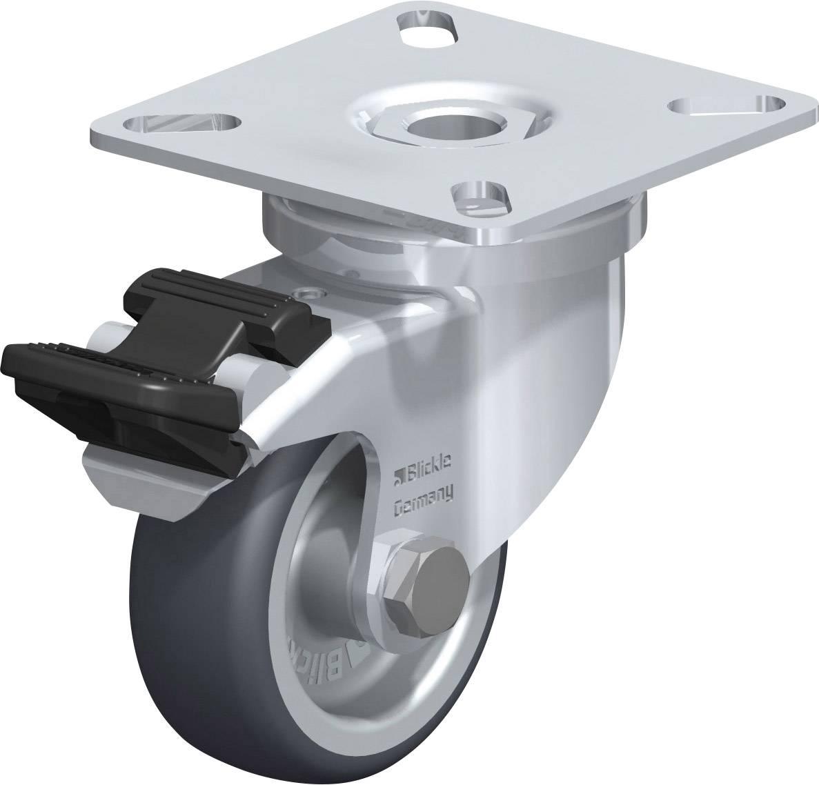 Otočné kolečko s kostrukční deskou a brzdou, Ø 50 mm, Blickle 346619, LPA-TPA
