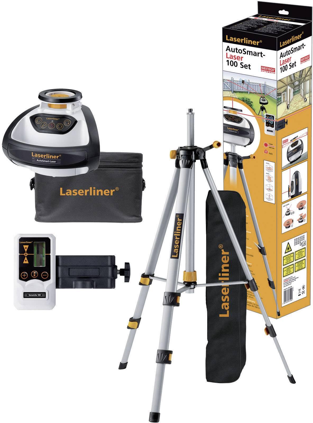 Rotační laser Laserliner AutoSmart-Laser 100, kalibrováno dle ISO