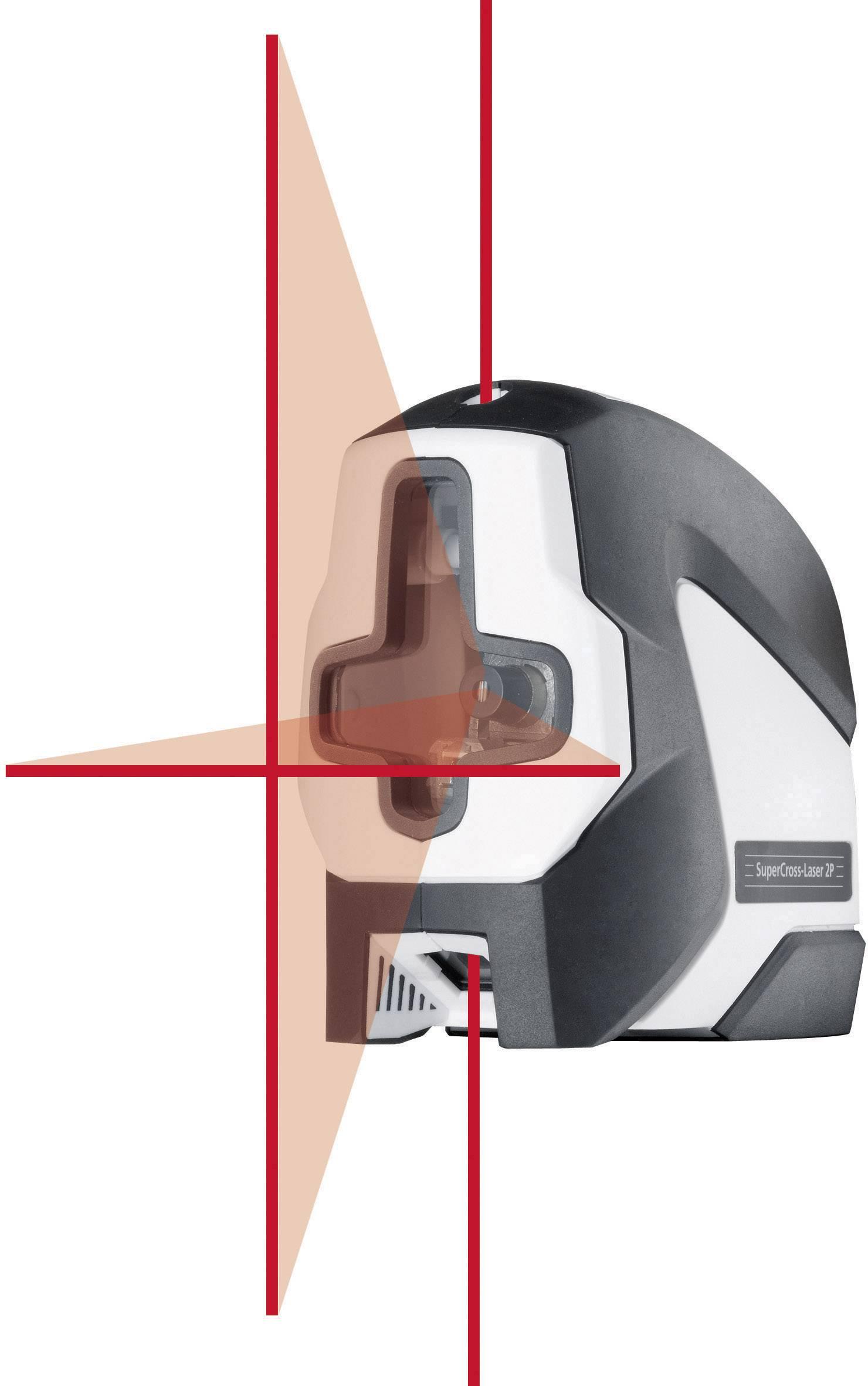 Křížový laser SuperCross-Laser2P Laserliner 081.125A, kalibrováno dle ISO