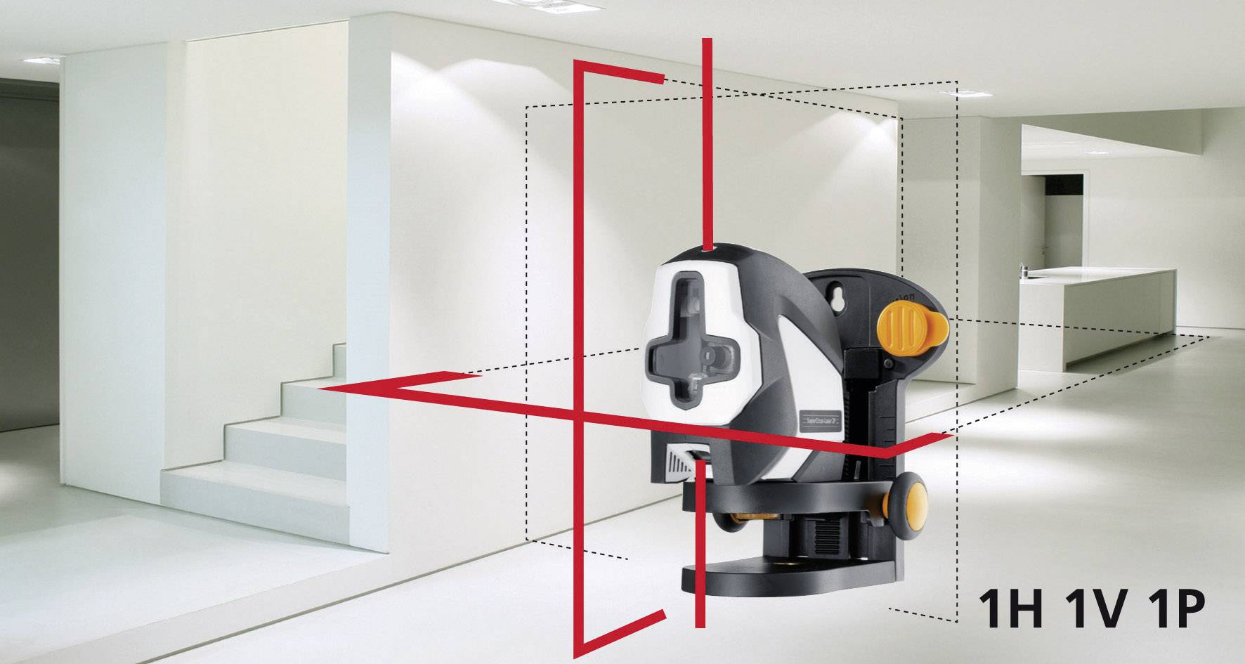 Krížový laser Supercross-Laser2P Laserliner 081.125A
