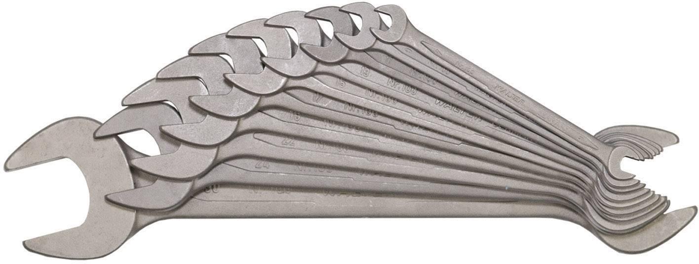 Sada plochých klíčů Walter, 6-27 mm, 10 ks
