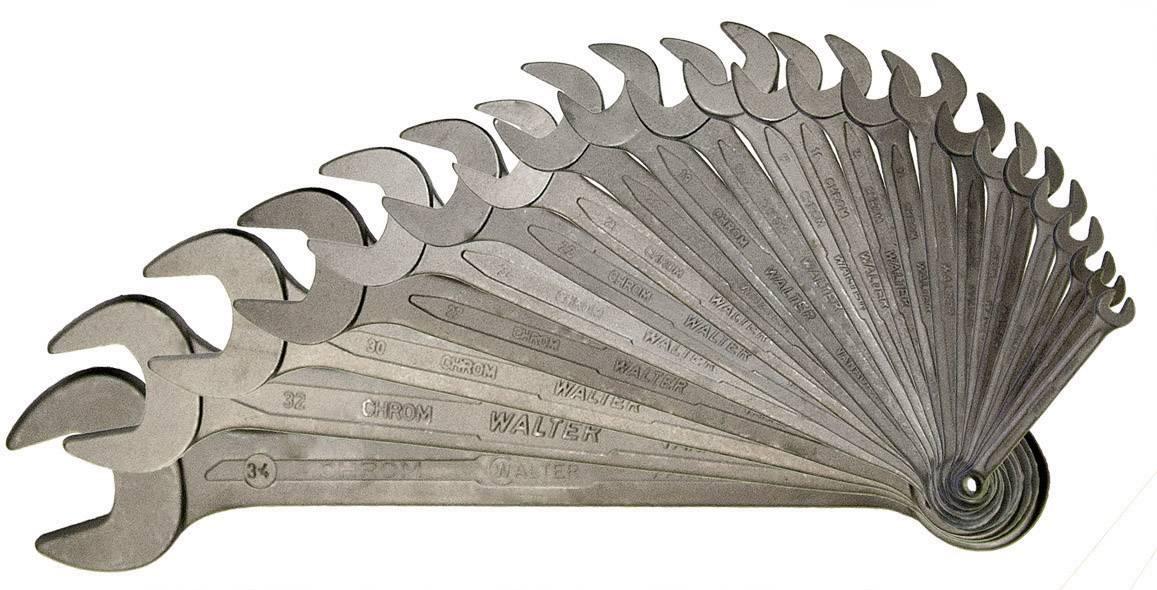 Sada očkoplochých klíčů Walter , 5 - 34 mm, 23 ks