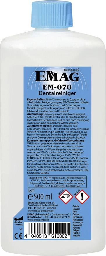 Dentálny čistič Emag pre zubné protézy a rovnátka, 0.5 l