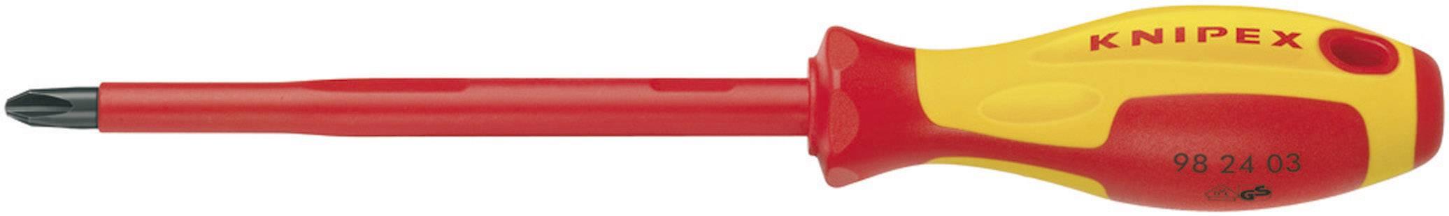 Krížový skrutkovač VDE Knipex 98 24 03, PH 3, dĺžka čepele: 150 mm