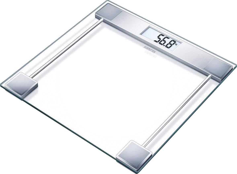 Digitálna osobná váha Sanitas SGS 06, sklo, ebenová čierna