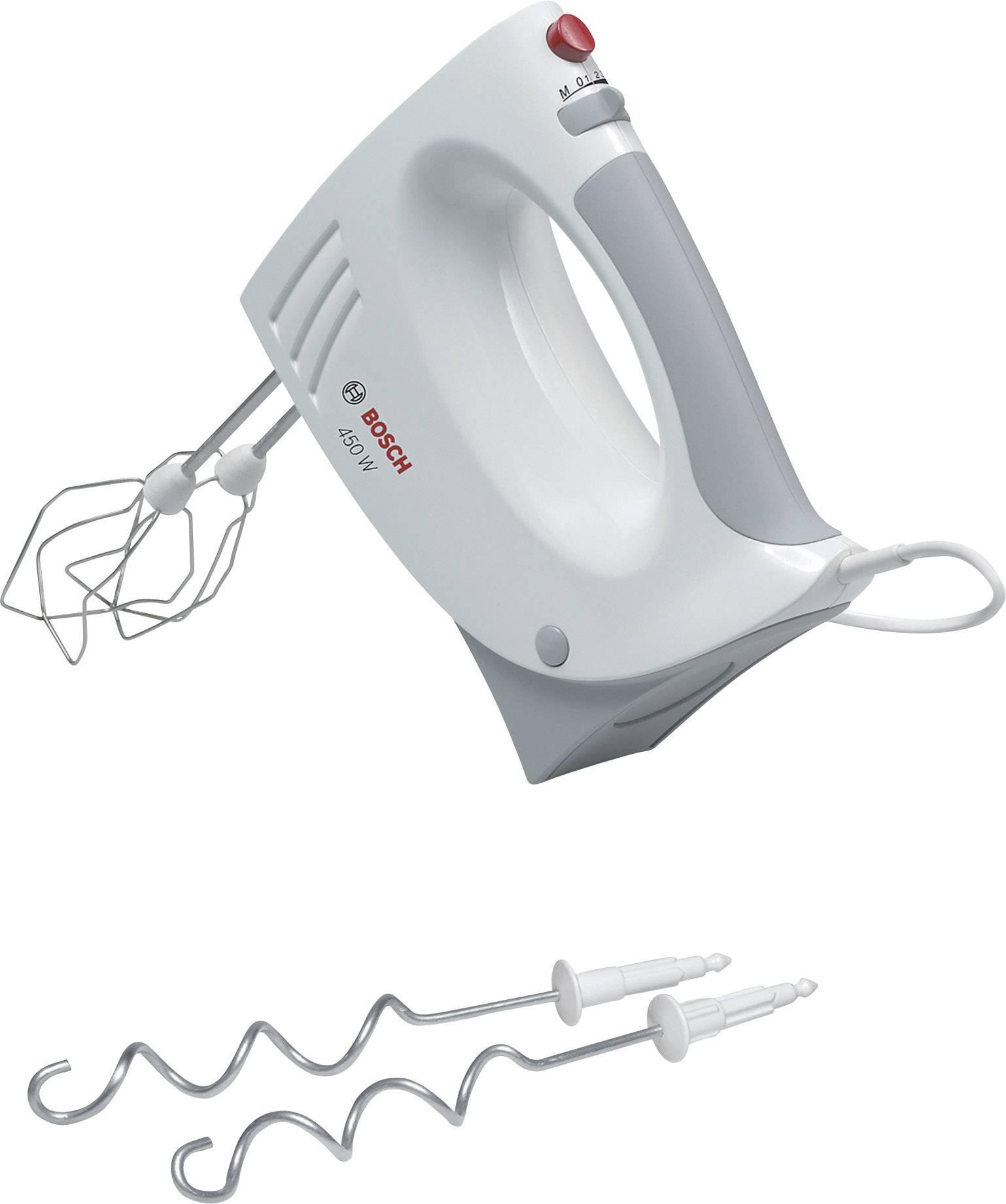 Ručný mixér Bosch MFQ3530, 450 W, biela, sivý