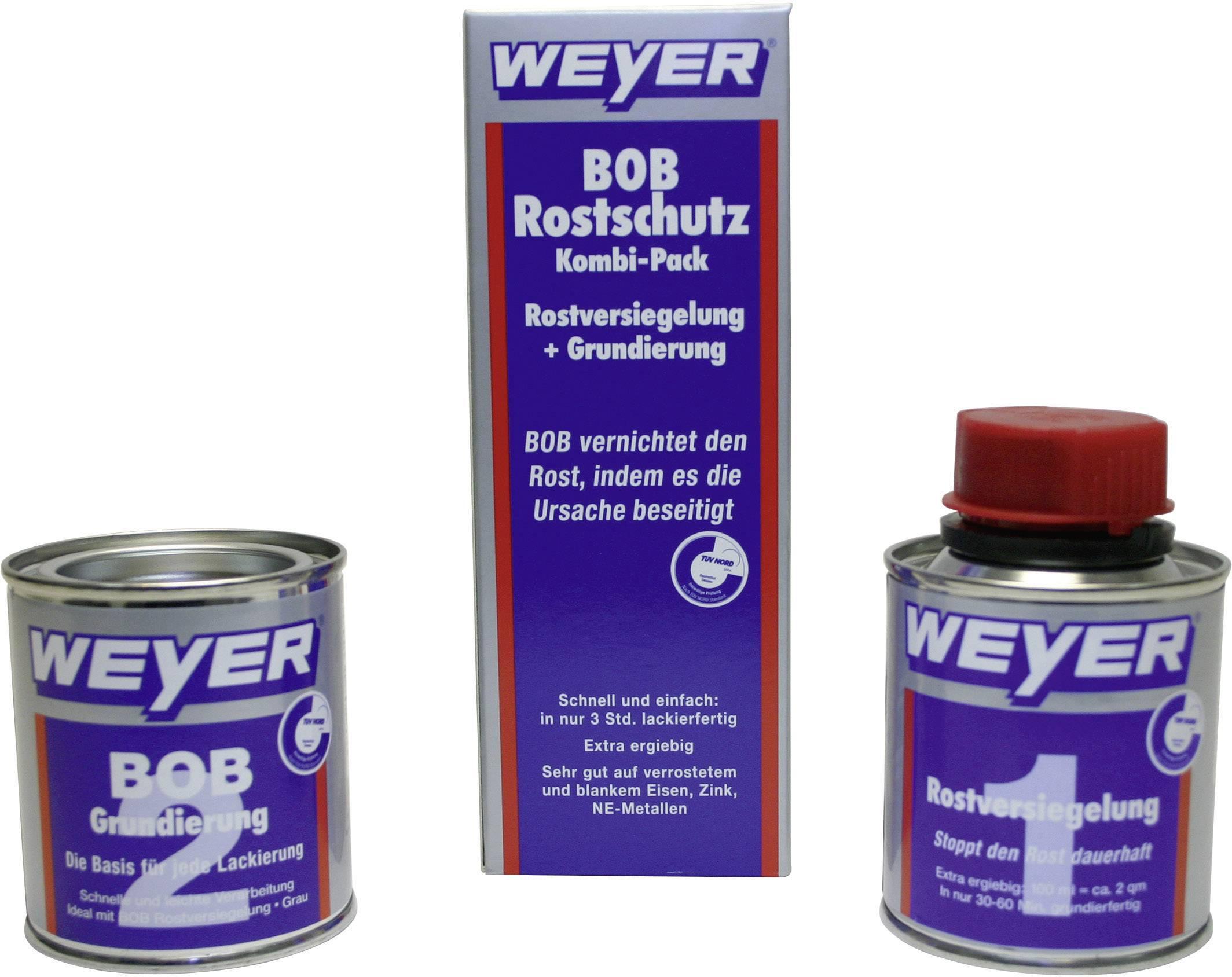 Sada ochranných prostředků proti korozi Weyer, 200 ml