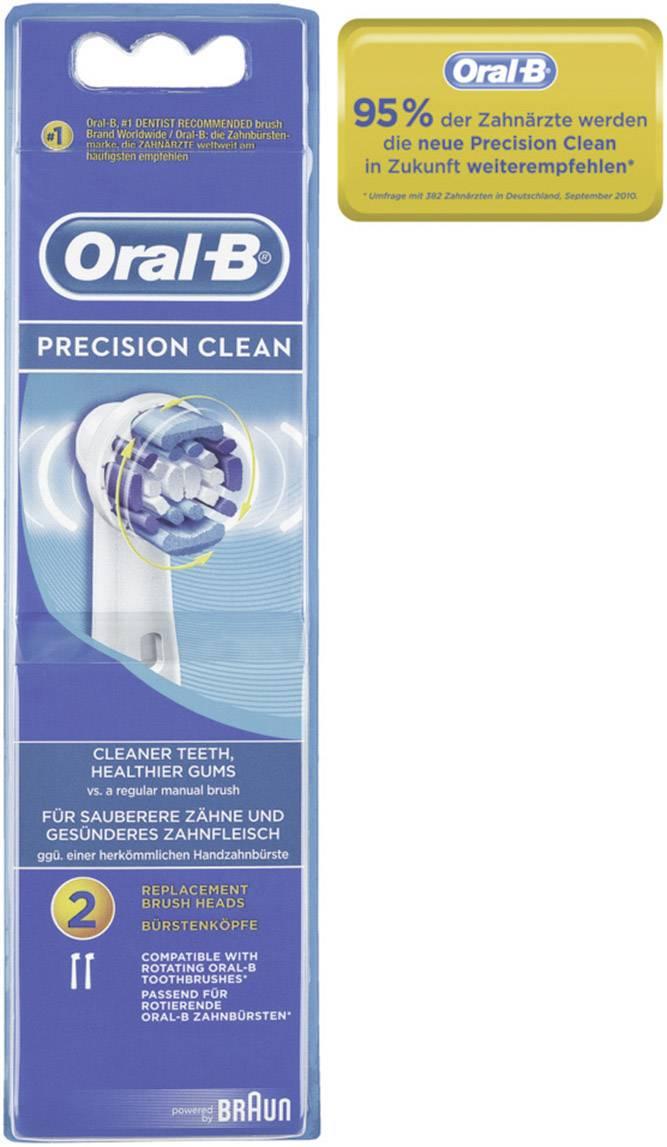 Náhradní hlavice pro elektrický zubní kartáček Oral-B Precision Clean, 2 ks