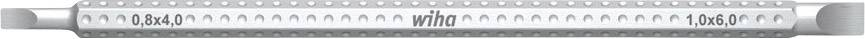 Kombinovaný bit drážková Wiha System 6, 3,5/4,5 mm (27627)