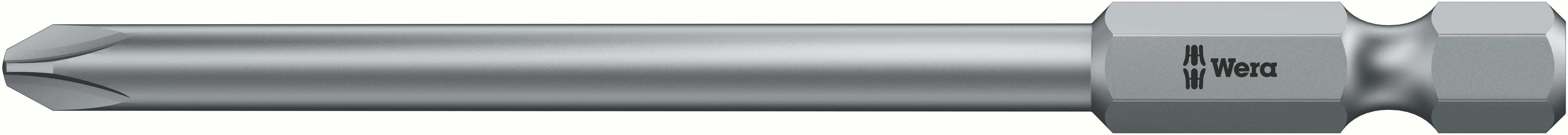 Predĺžený krížový bit Wera 851 / 4 Z PH 2 X 70 MM;6 mm 05 059770 001, nástrojová oceľ, 1 ks