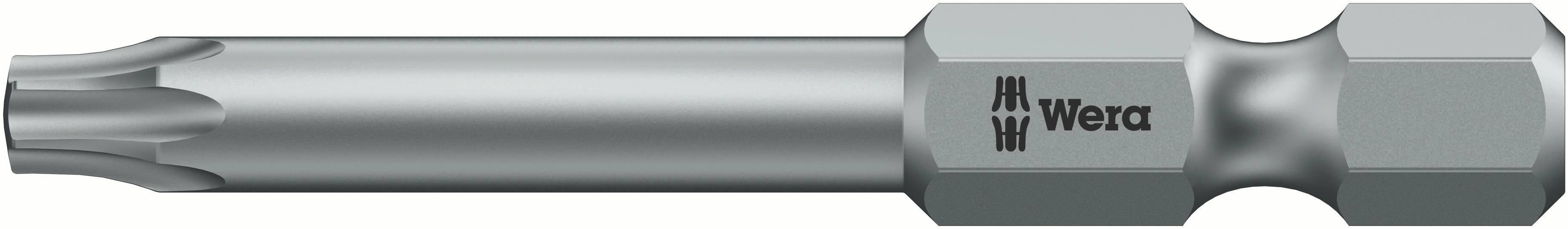 Bit Torx Wera 867 / 4 Z TORX 25 X 70 MM 05060115001, 70 mm, nástrojová oceľ, legované, 1 ks
