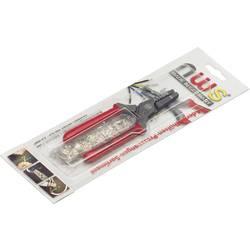Lisovacie kliešte sada dutiny na káble, dvojžilové dutiny na káble NWS 143-TS, 0.5 do 2.5 mm², 151dílná