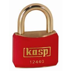 Visací zámek na klíč Kasp K12440REDD, 40 mm, zlatožlutá
