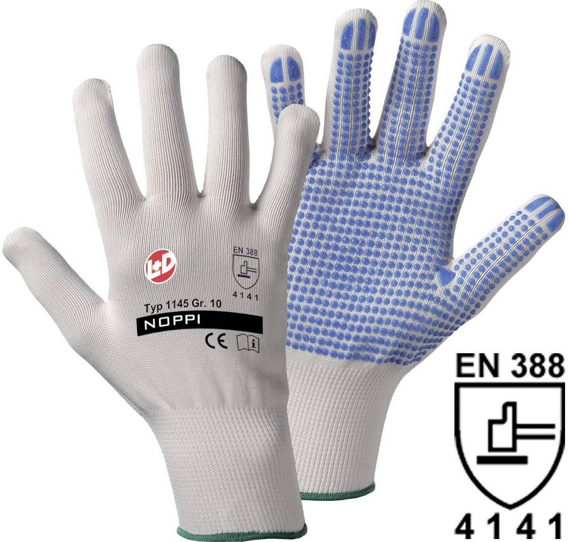 Pracovné rukavice L+D NOPPI 1145, velikost rukavic: 10, XL