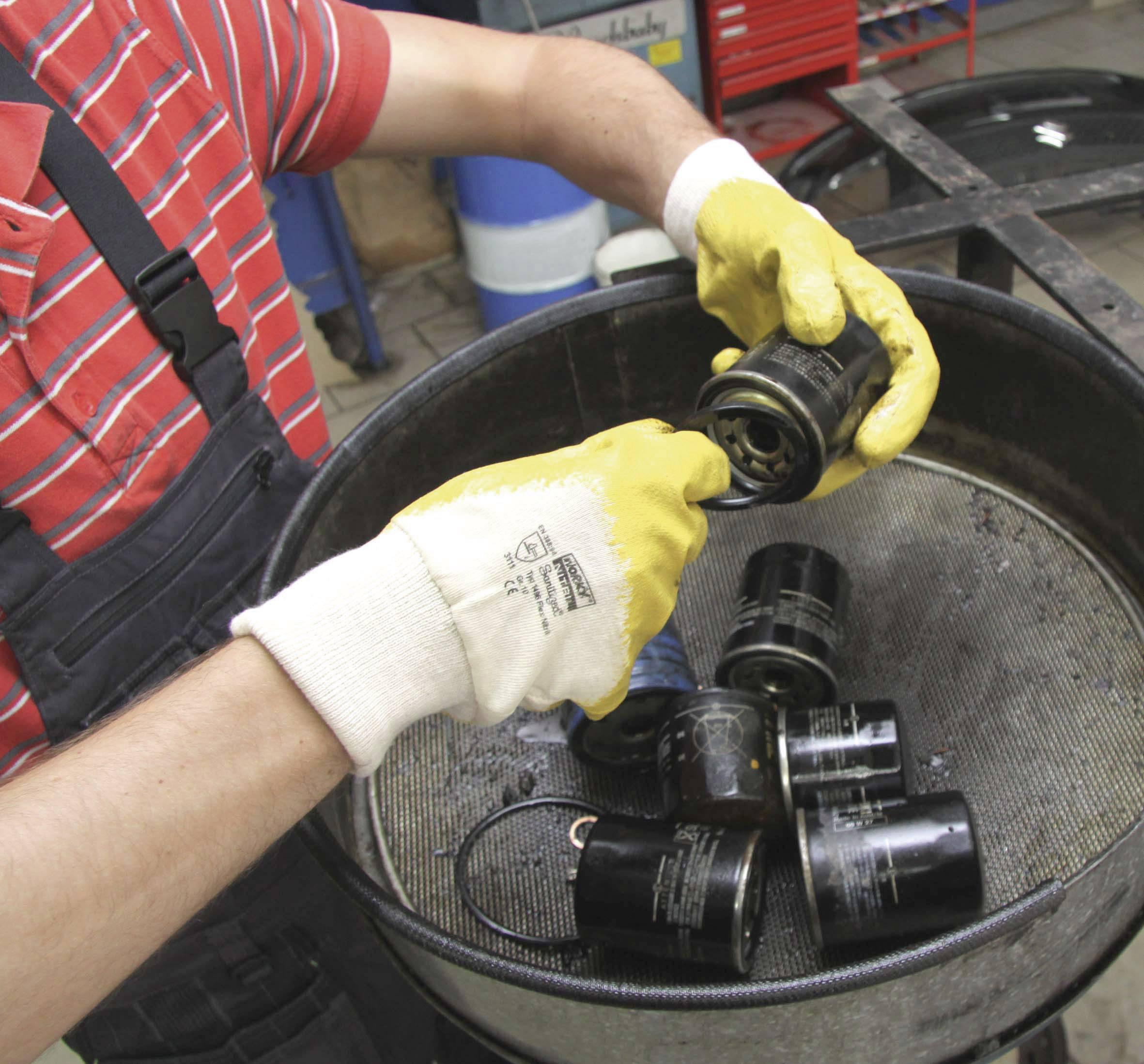 Pracovné rukavice worky Flex Nitril 1496, velikost rukavic: 10, XL