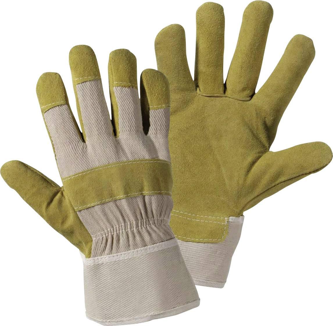 Pracovní rukavice ze štípenkové kuže, velikost 10,5