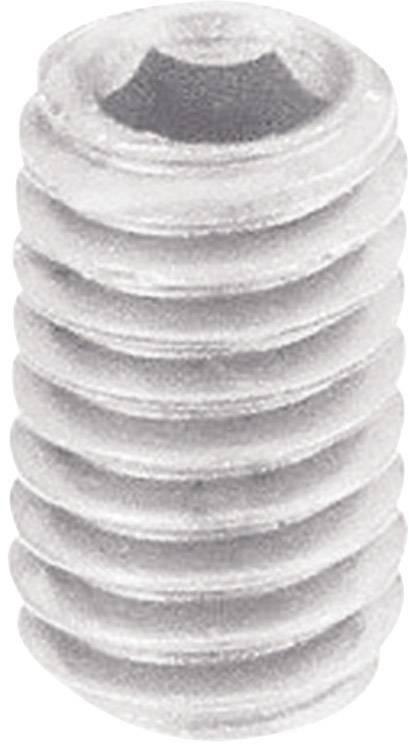 Červík s vnitřním šestihranem DIN913, M5 x 10 mm, 10 ks