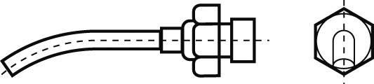 Teplovzdušná hubica teplovzdušné trysky Weller Professional R08, velikost hrotu 2.5 mm, 1 ks