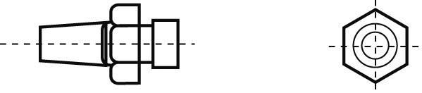Horkovzdušná tryska Weller R06