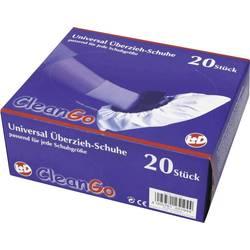 Návleky na boty CleanGo 25194 Velikost=Univerzální velikost bílá