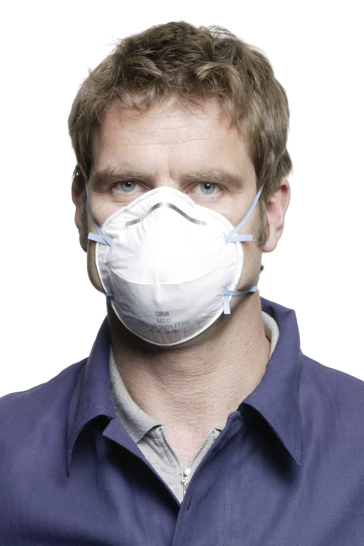 Respirátor proti jemnému prachu 3M 8810, 20 ks