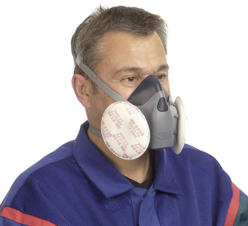 Respirační filtr P3 2135 (10 párů) 3M