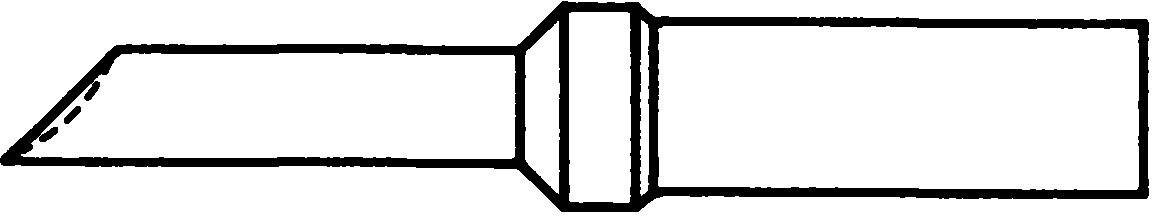 Spájkovací hrot stojanček pre spájkovacie hroty Weller Professional ET-GW, 1 ks