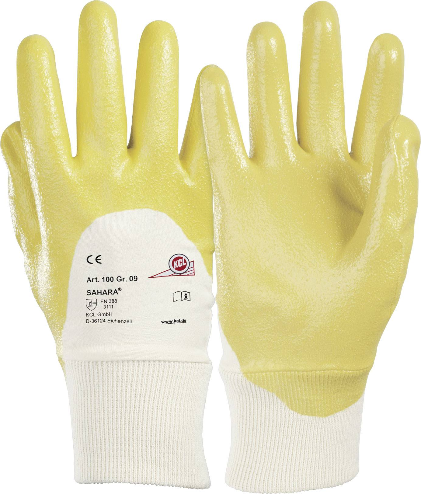 Pracovné rukavice KCL Sahara® 100, velikost rukavic: 7, S