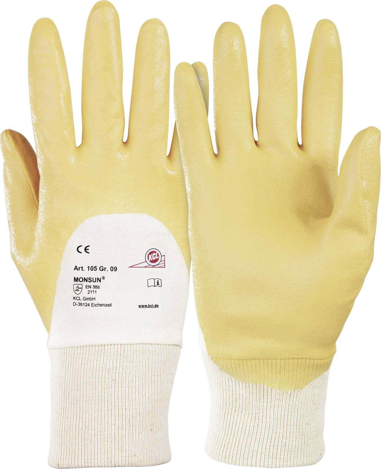 Pracovné rukavice KCL Monsun® 105, velikost rukavic: 7, S